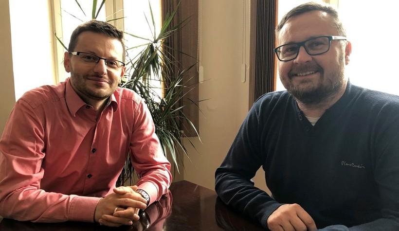 Bartosz Kaliński i Bartłomiej Tkacz