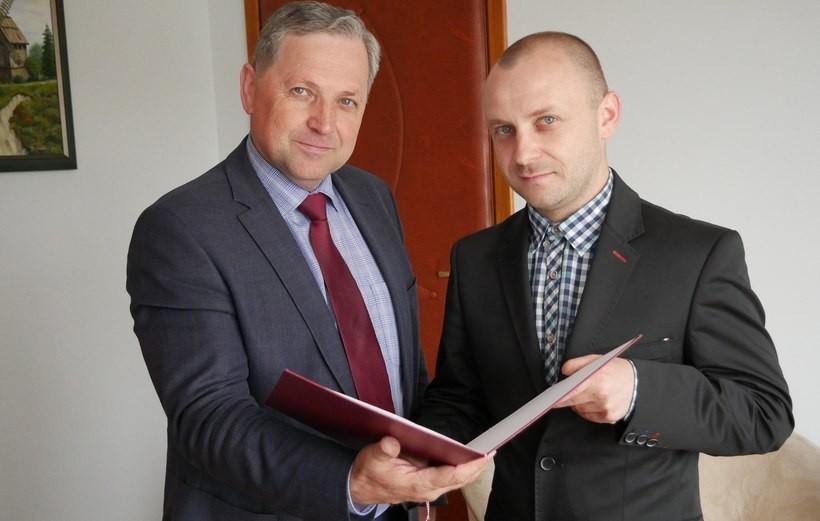Starosta wadowicki i nowy szef PINB w Wadowicach