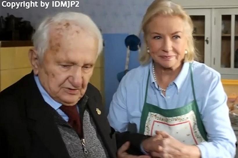 Na planie programu kulinarnego nagrywanego w mieszkaniu Wojtyłów pracowało wiele znanych osób