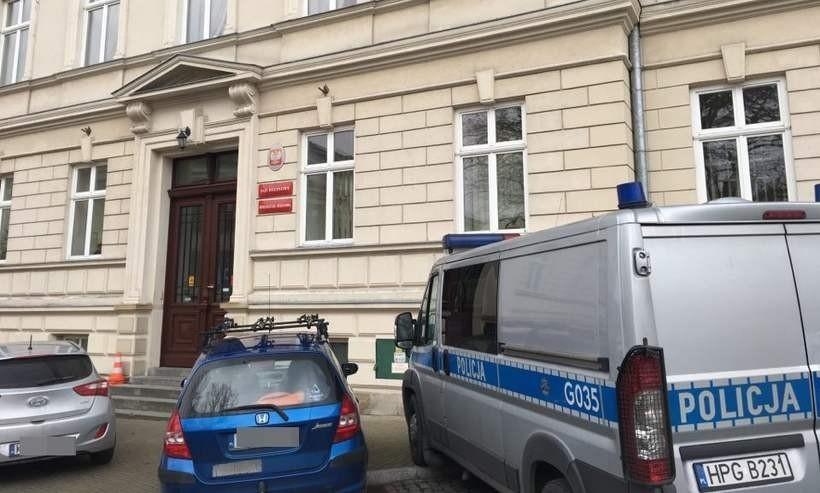 Siedziba Sądu Rejnowego i prokuratury w Wadowicach