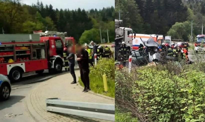 Wypadek w Zembrzycach