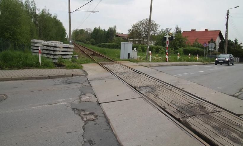 Remont przejazdu kolejowego w Andrychowie