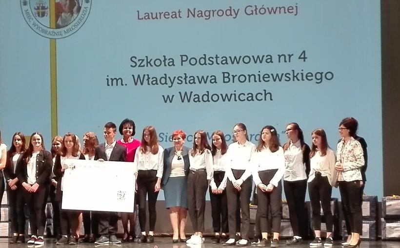 Dzieciaki z SP nr 4 w Wadowicach nie miały sobie równych
