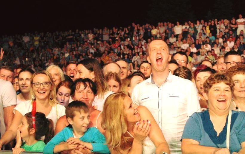 Tysiące ludzi na imprezie w Kalwarii Zebrzydowskiej. Artyści nie zawiedli, burmistrz zaskoczył