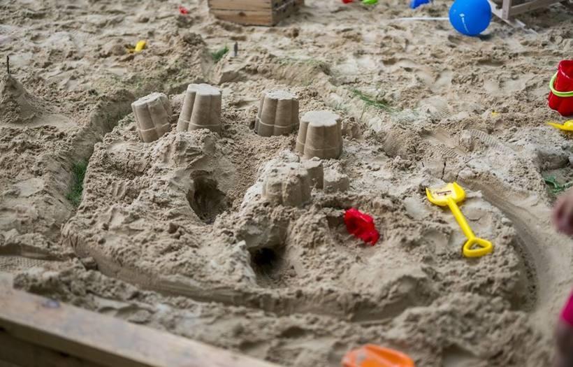 City Plaża na rynku w Wieluniu