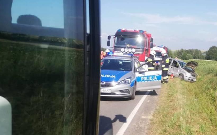 Wypadek na Nideckiej w Wieprzu