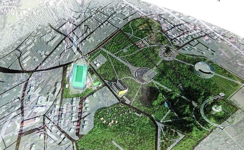 Wstępne projekty rewitalizacji Pańskiej Góry