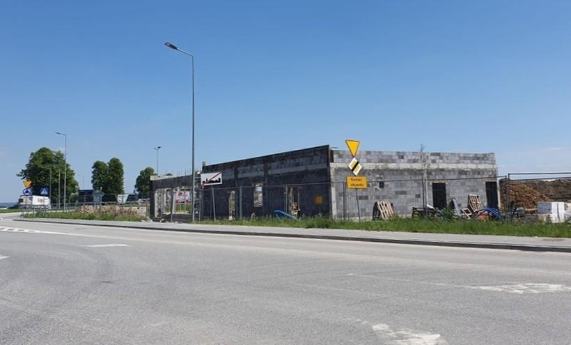 Tak wyglądała neidawno budowa McDonalds w Zatorze