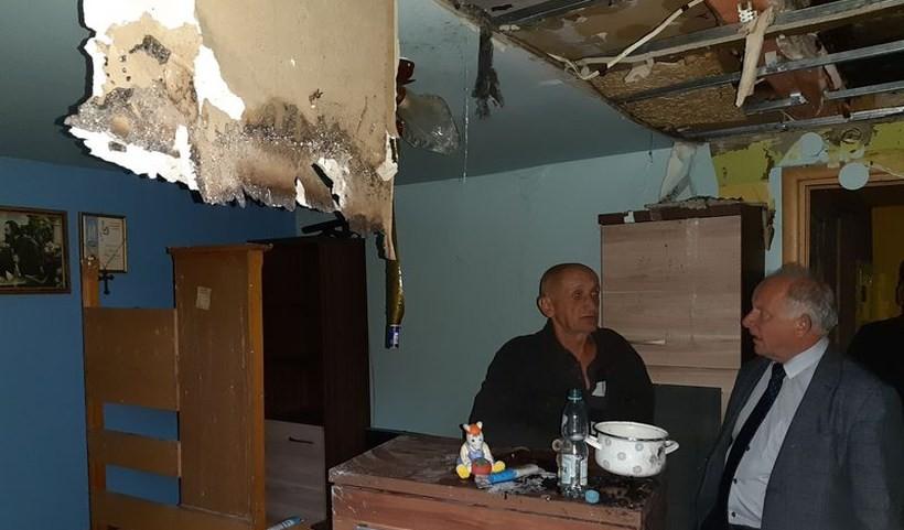 Pogorzelcy z Podolan opuścili spalony dom. Będzie akcja pomocy dla nich