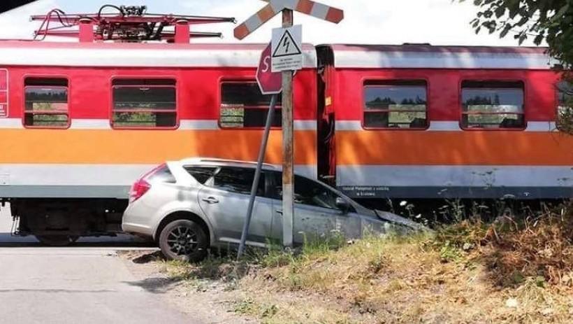 Pracownicy kolei spradwdzali przejazd po wypadku z dnia 20 lipca