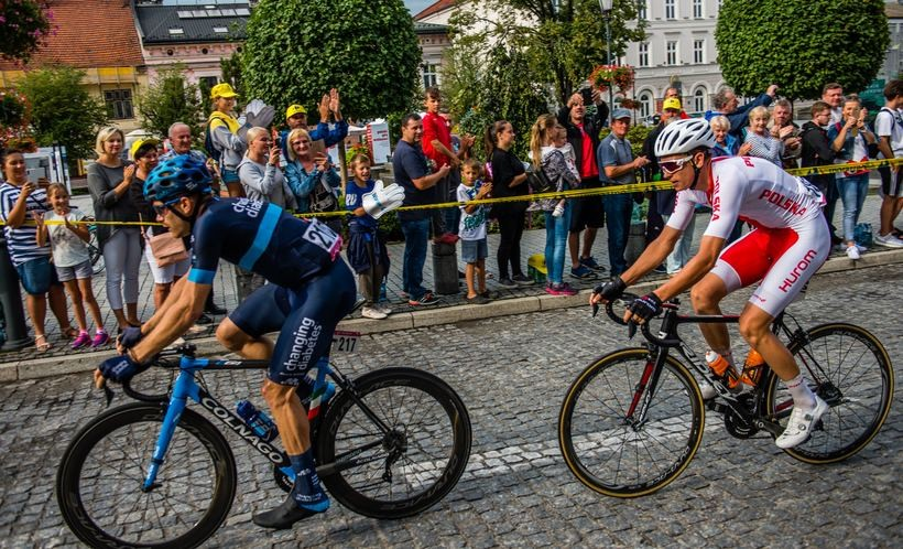 Francuz najlepszy w Lanckoronie i Witanowicach. Tour de Pologne przejechał przez powiat