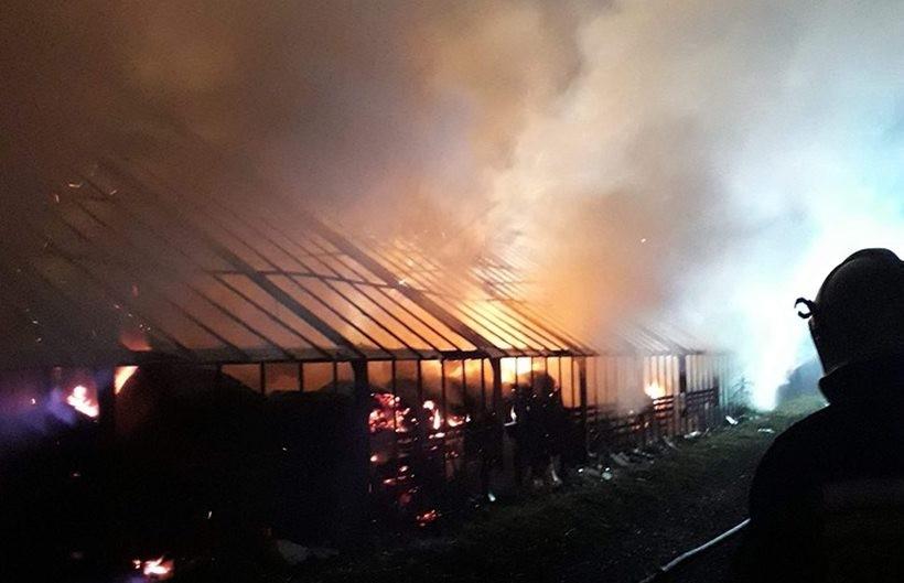 Pożar w Zagórniku