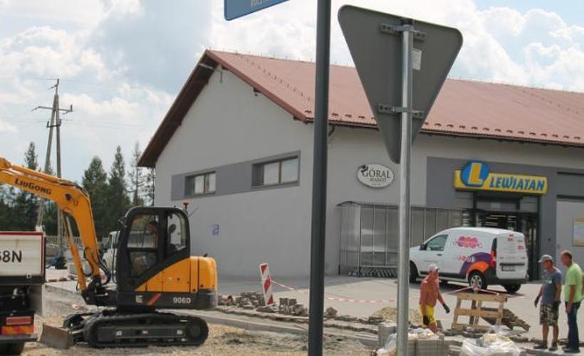 Remont ulicy Spokojnej w Roczynach