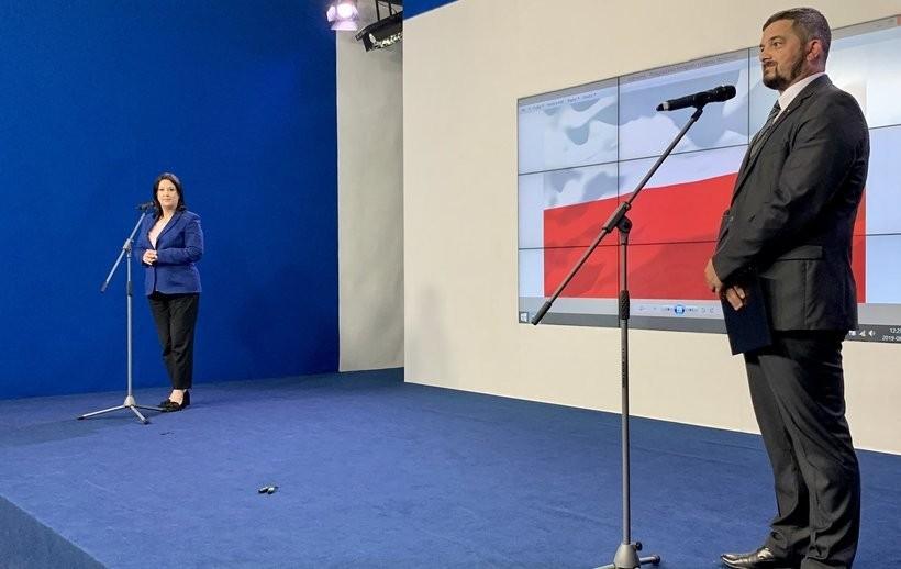 Konferencja prasowa rzewodniczącego Komitetu Wykonawczego #PiS K. #Sobolewski (@AC_Sobol)