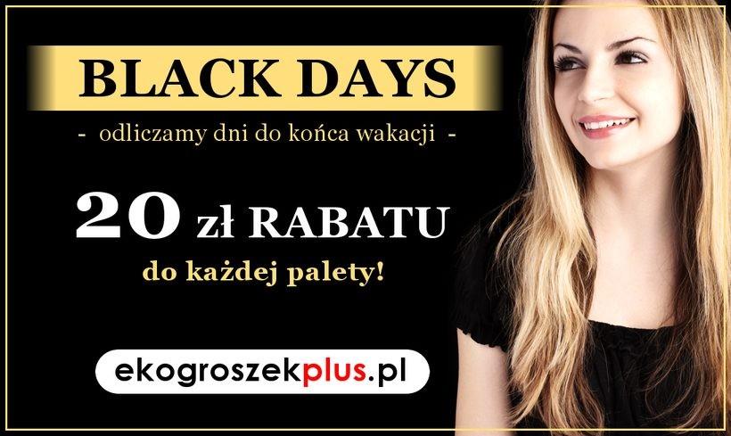 Ależ okazja! BLACK DAYS w e-sklepie ekogroszekplus.pl!