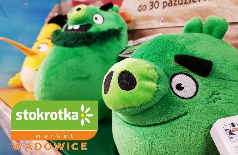 Uwaga! Kolekcja  najnowszych Angry Birds w markecie Stokrotka w Wadowicach!