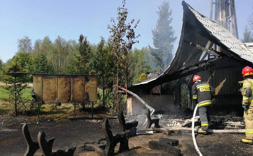 Komu przeszkadzała kaplica w Zagórniku? Policja wszczęła śledztwo w sprawie podpalenia