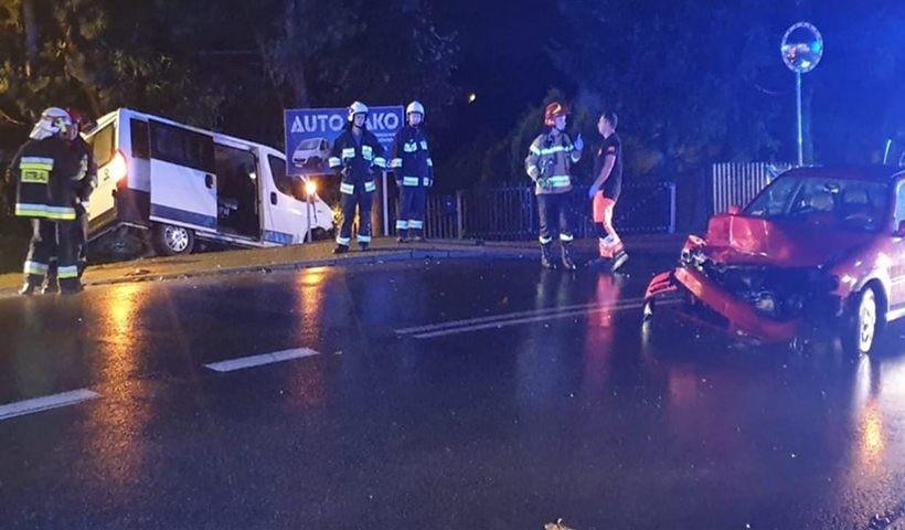 Wypadek w Witanowicach
