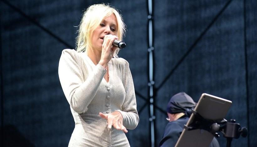 Jedną z gwiazd sobotniego koncertu była Katarzyna Moś