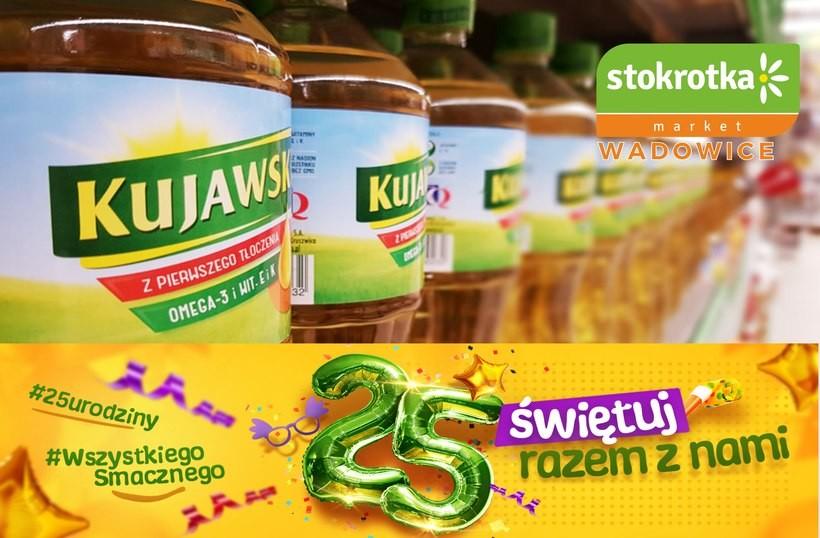 Z okazji urodzin jeszcze więcej promocji w markecie Stokrotka w Wadowicach!