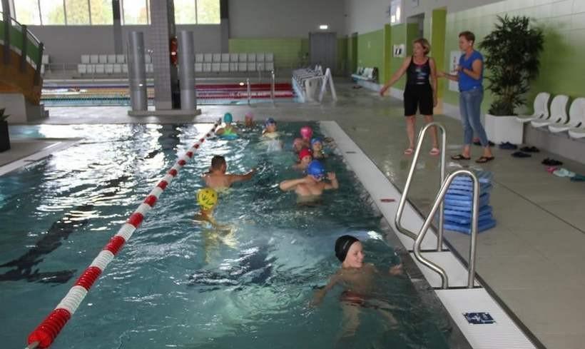 Zajęcia na basenie w Andrychowie