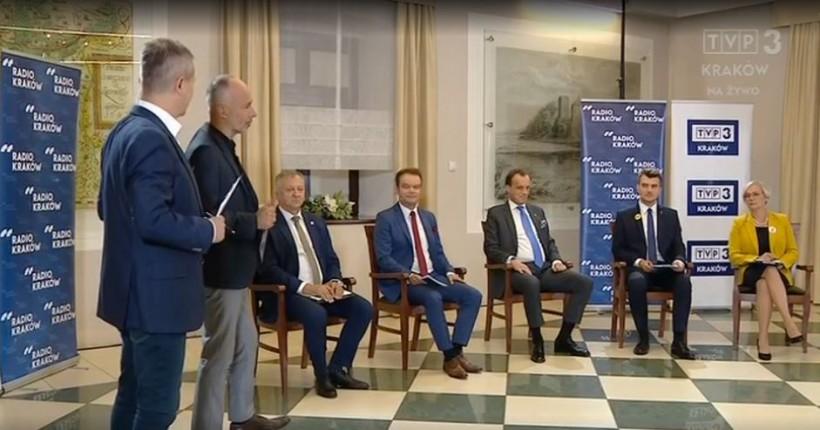 Liderzy list w wyborach do Sejmu debatują w Oświęcimiu. Gdzie można ich oglądać?