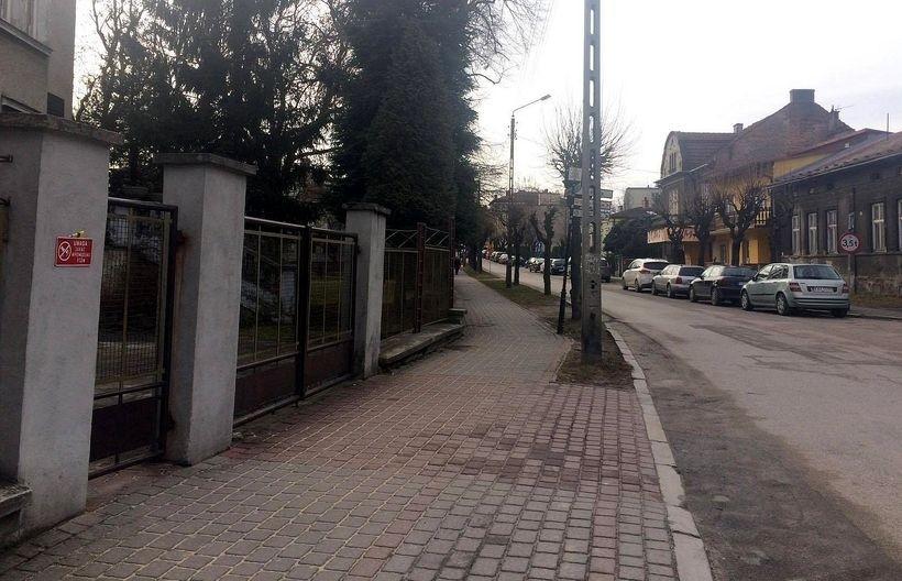 Ulica Gimnazjalna w Wadowicach