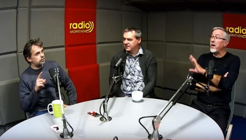 Przegląd Tygodnia w Radio Andrychów: Andrzej Famielec, Marcin Płaszczyca i Marek Nycz