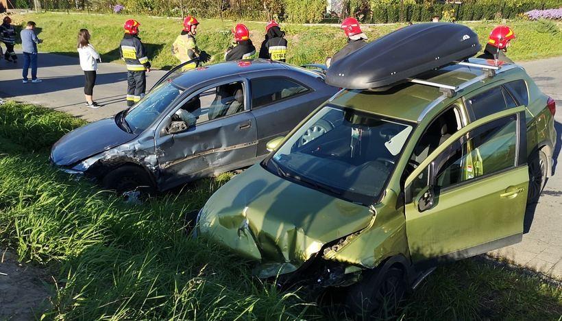 Wypadek w Tomicach