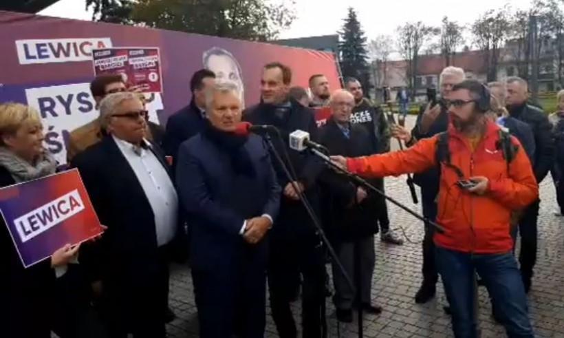 Aleksander Kwaśniewski we wtorek w Chrzanowie