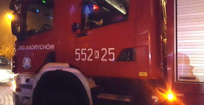 Trzy osoby ranne po wybuchu butli z gazem w Targanicach