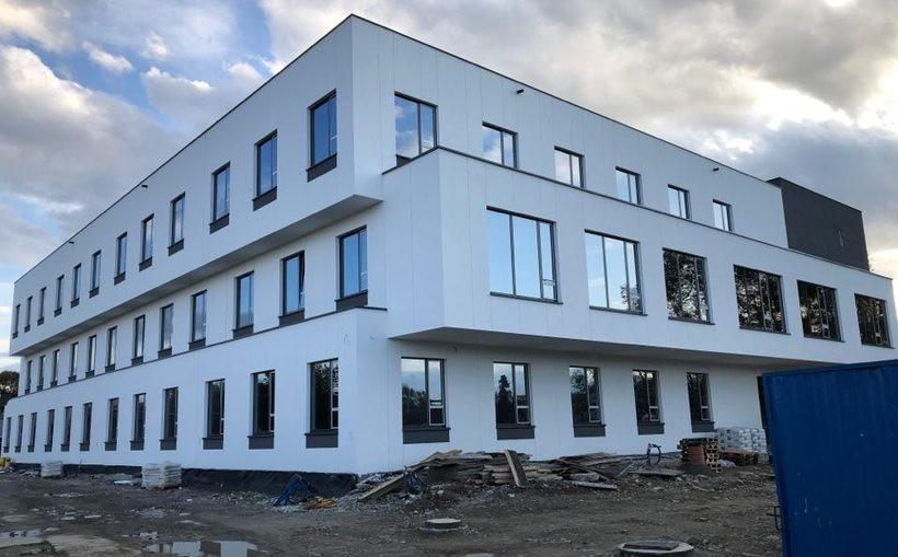 Nowa siedziba komendy powiatowej policji w Wadowicach