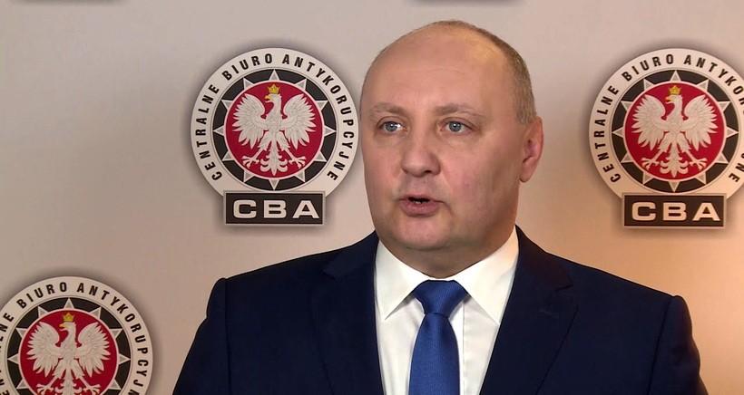 Temistokles Brodowski, rzecznik prasowy Centralnego Biura Antykorupcyjnego w Warszawie