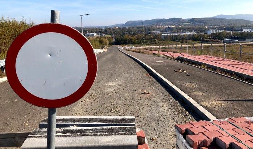 Wjazd do strefy ekonomicznej w Andrychowie
