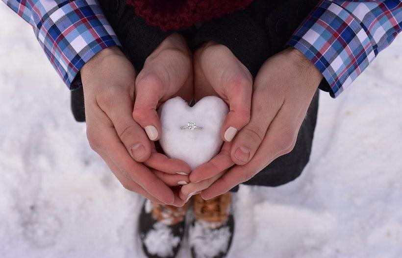 Najlepsze miejsca na zaręczyny zimą