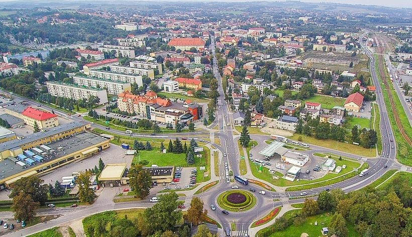 Ulicę Lwowska w Wadowicach