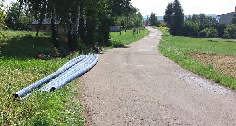 Dotrzymali słowa, jest już pierwszy wodociąg w Wysokiej. Tylko co piąty dom podłączył się do sieci