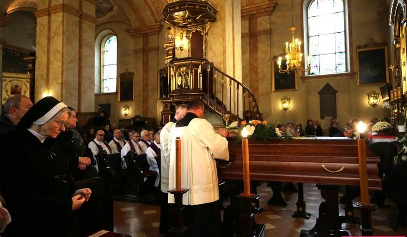 Pogrzeb ks. Jacka Pietruszki w Wadowicach