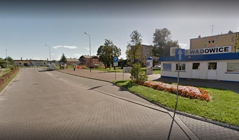 Dworzec autobusowy w Wadowicach