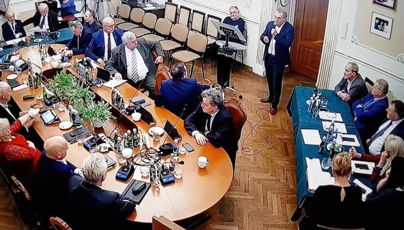 Sławomir Rusinek pojawił się na sesji rady w czwartek