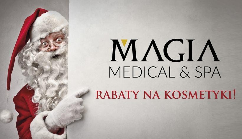 Promocja na kosmetyki od Świętego Mikołaja w Magia Medical & SPA