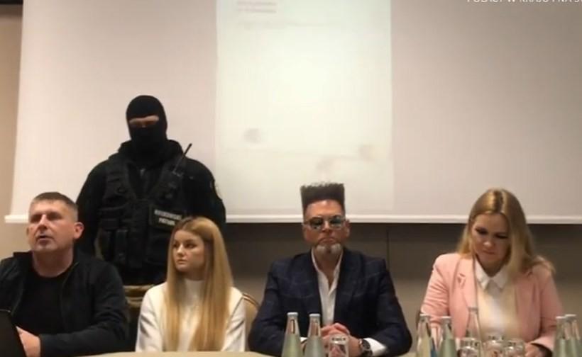 W konferencji wzięły udział panie Beata i Ilona Cichoń właścicielki dwóch firm przewozowych