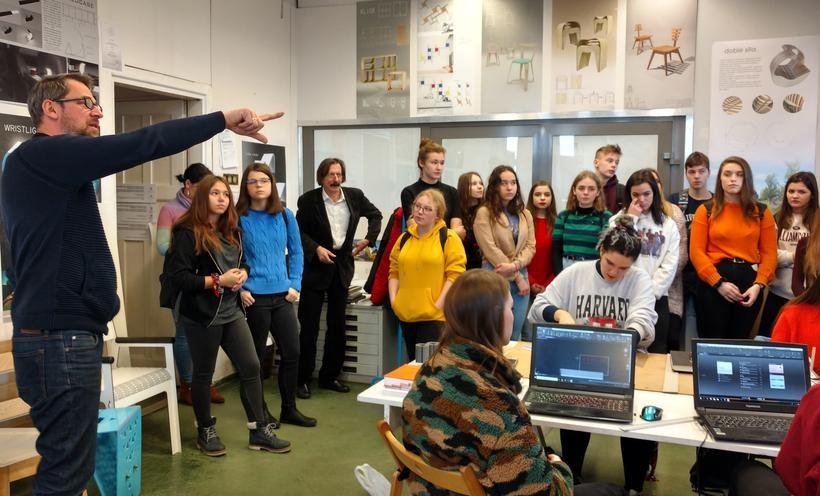 Uczniowie architektury poznają swój zawód. Liceum z Wadowic kusi wyjazdami i wykładami