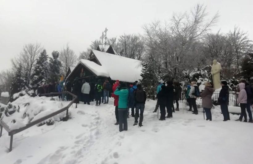 Uroczystości na Groniu Jana Pawła II, 1 stycznia 2020r