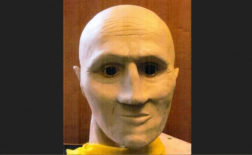 Rekonstrukcja twarzy wykonana przez krakowską policję