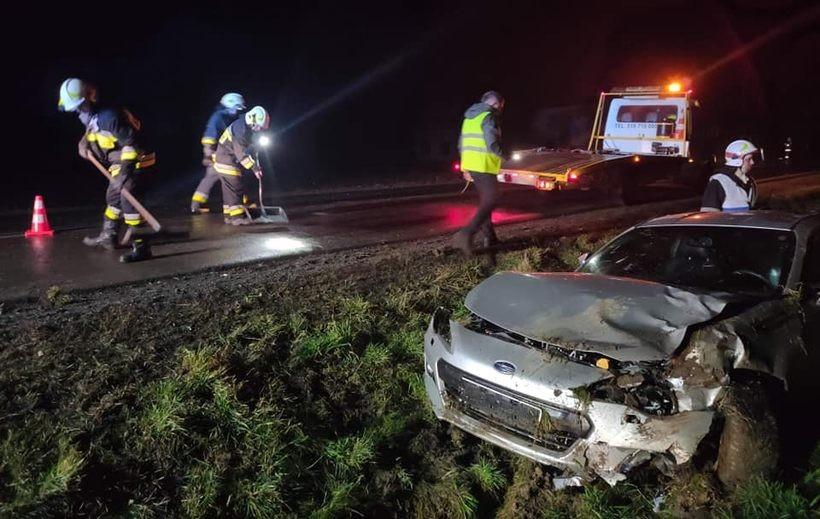 Wypadek w Graboszycach