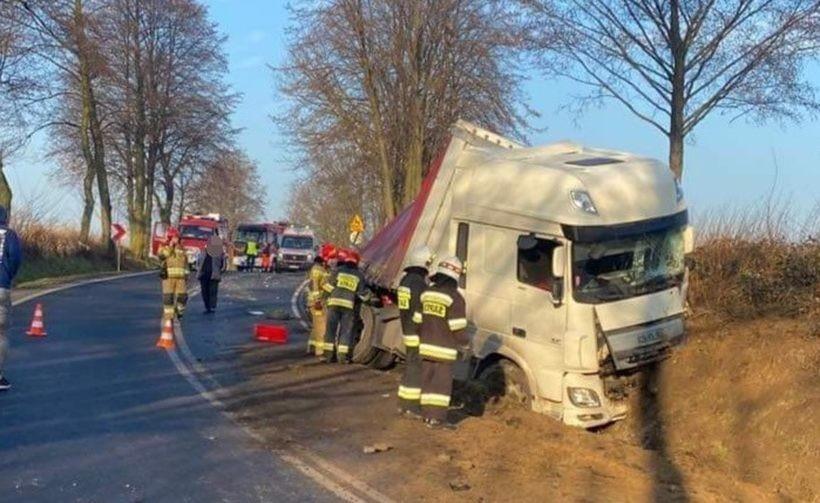 Poważny wypadek w Spytkowicach