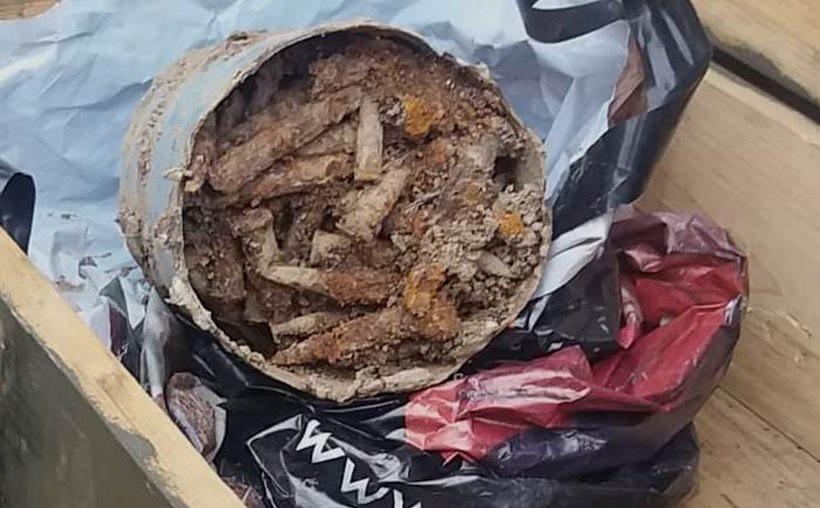 Amunicja znaleziona w Wieprzu