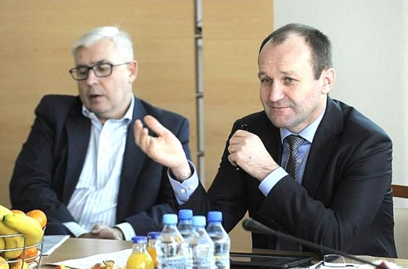 Marek Sowa spotkał się z przedsiębiorcami