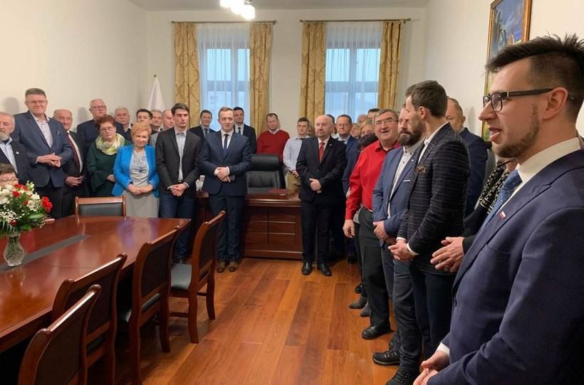 Biuro poselskie Filipa Kaczyńskiego w Wadowicach